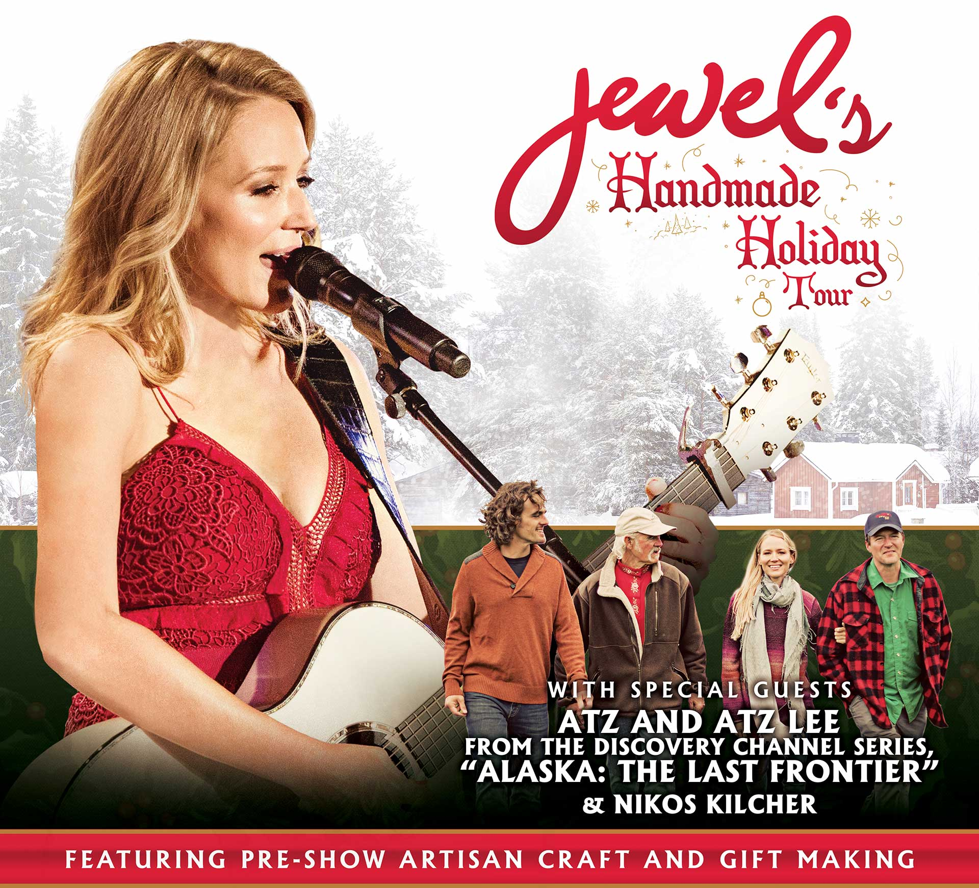 Jewel's 2018 Handmade Holiday Tour