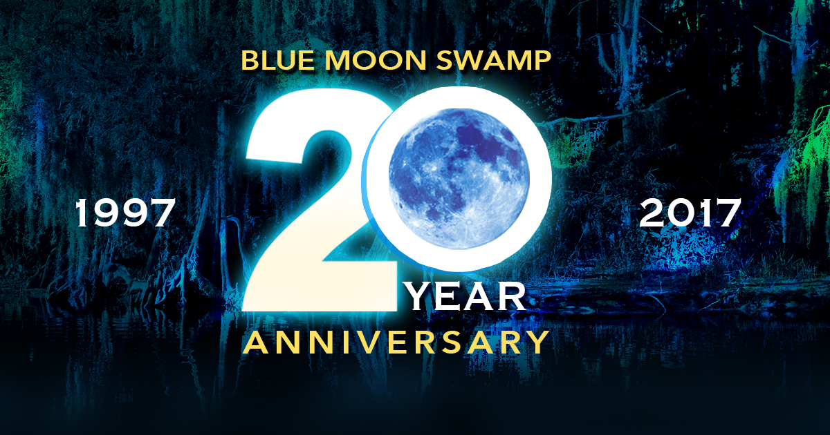 5/20/17 – 20th Anniversary of John's Grammy winning 5th studio album Blue Moon Swamp