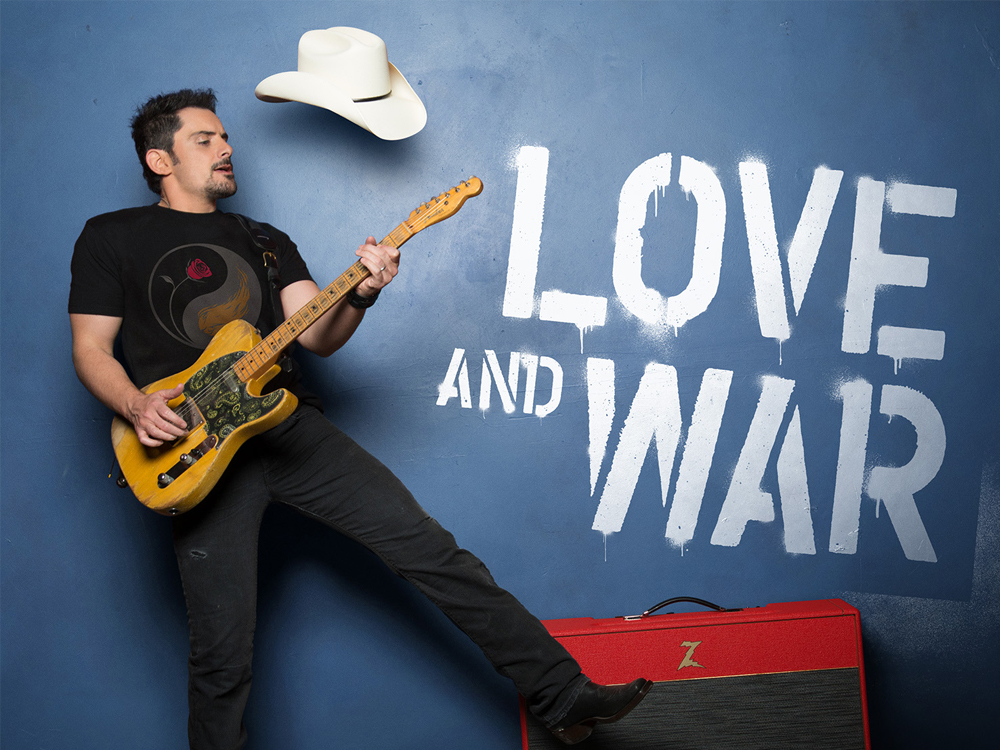 Inside Brad Paisley's Defiant, All-Star New Album 'Love and War