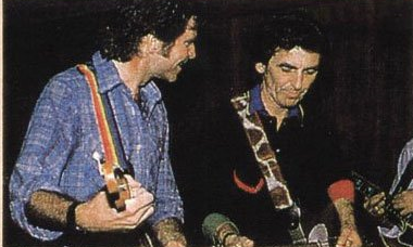 Watch George Harrison, John Fogerty and Bob Dylan Jam in 1987