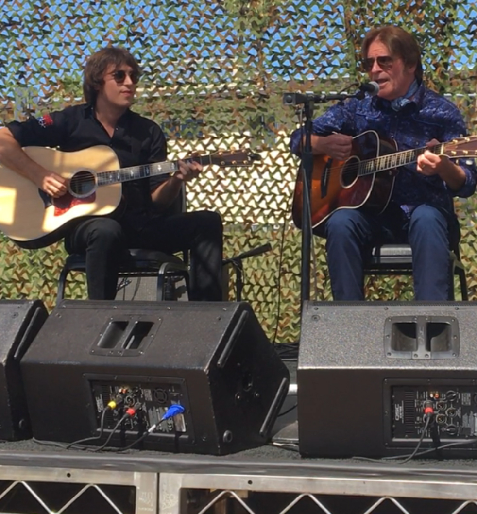 John Fogerty helps break ground on veterans crisis center in Las Vegas