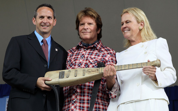 John Fogerty becomes the first musician inducted in the Baseball Hall of Fame