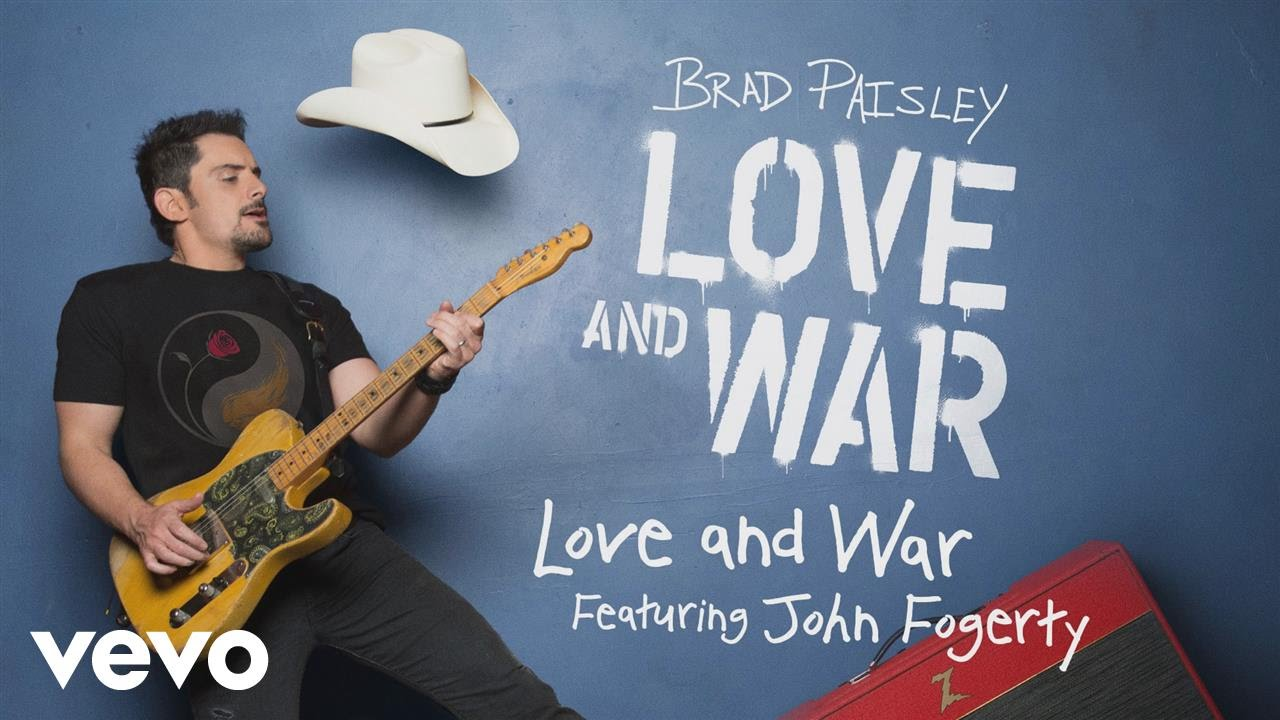 Brad Paisley Releases 'Love And War' Video Featuring John Fogerty