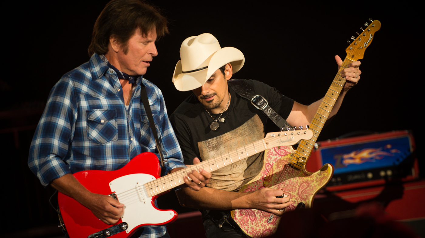 Exclusive! Brad Paisley and John Fogerty on Their Concert for Veterans