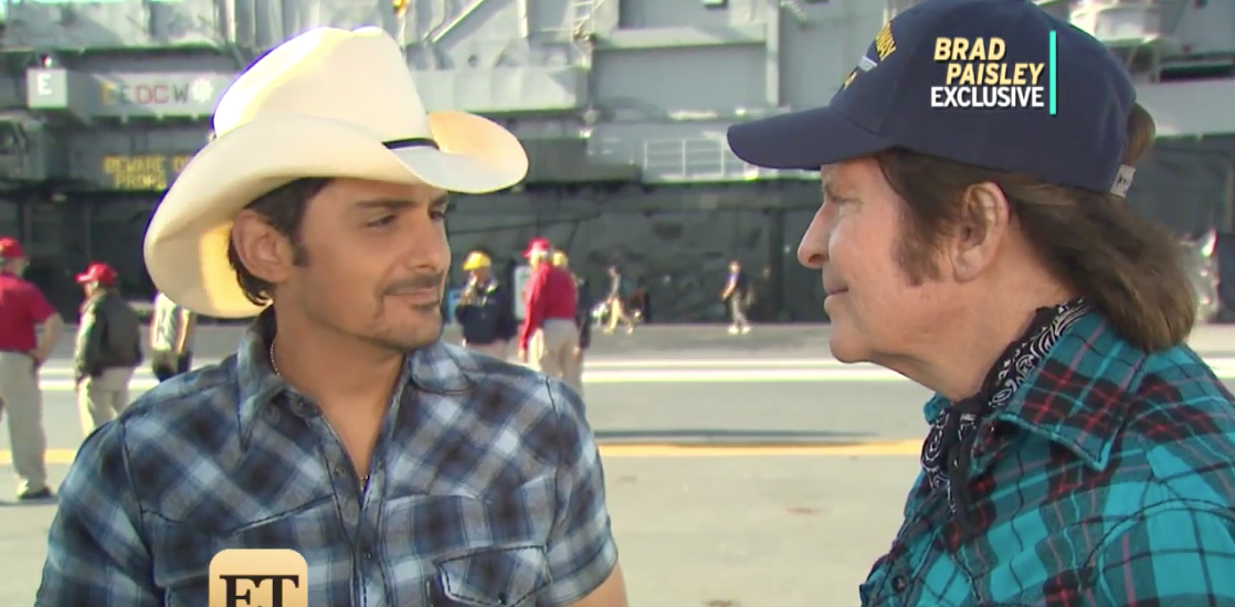 Brad Paisley Fights for Better Treatment of US Veterans on New Song - 'We Have to Make This Right'