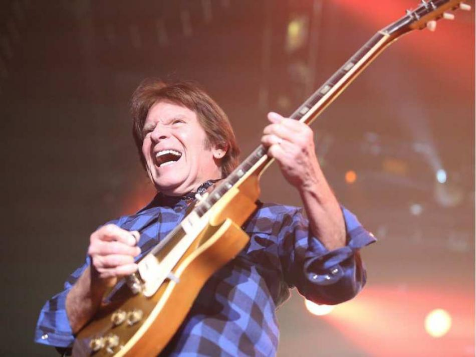 Review: Rock great John Fogerty hooks Saddledome audience in with another incredible show