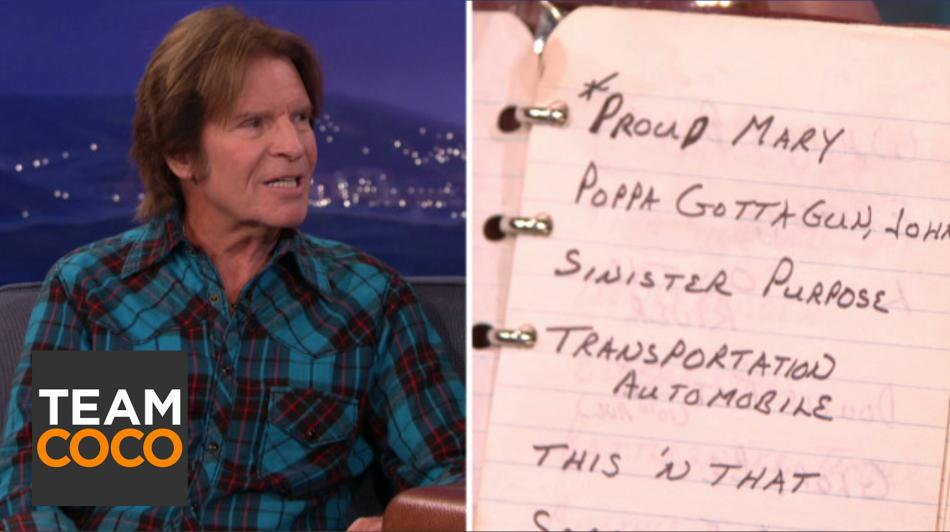 John Fogerty On His Songwriting Technique