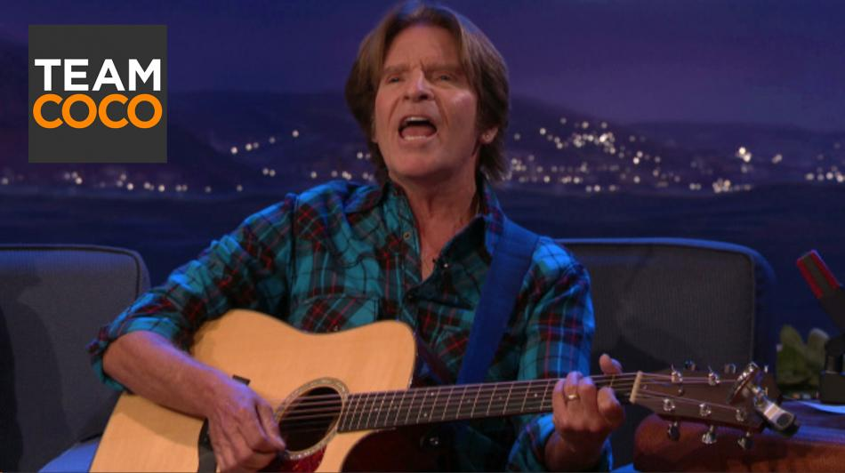 "John Fogerty's Impromptu Acoustic Version Of ""Have You Ever Seen The Rain?"""
