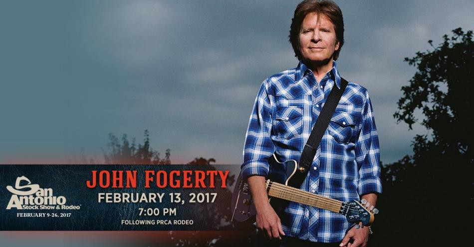 2017 San Antonio Stock Show and Rodeo followed by John Fogerty