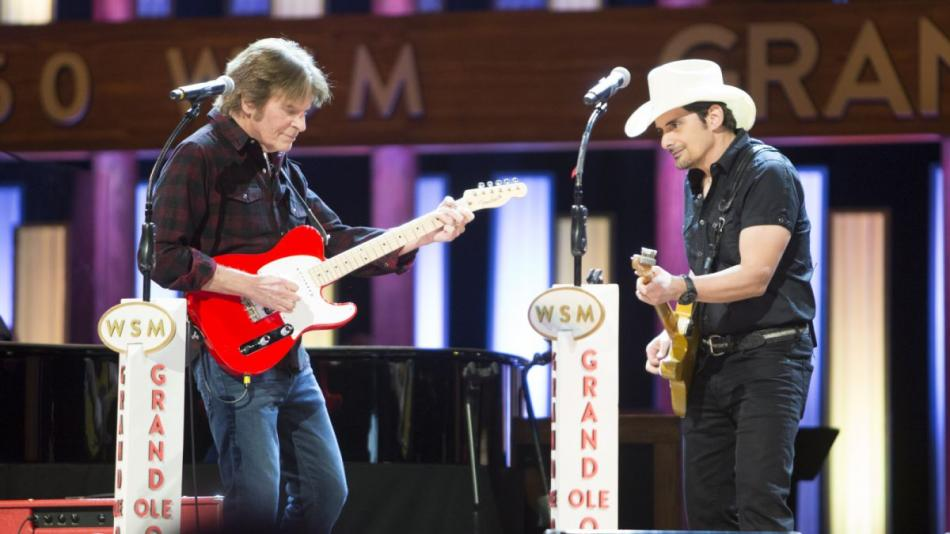 John Fogerty Joins Brad Paisley at Grand Ole Opry