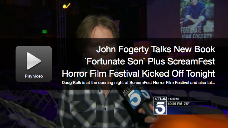 John Fogerty Talks New Book `Fortunate Son...