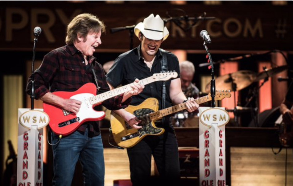 Brad Paisley brings John Fogerty to Opry