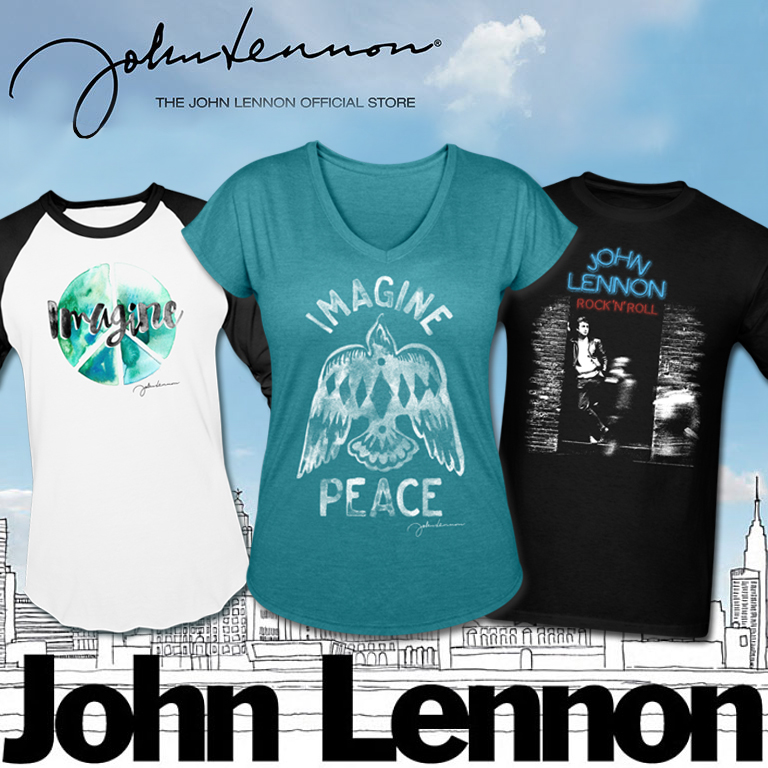 The John Lennon Official Store - War Is Over If You Want It - Shop Now