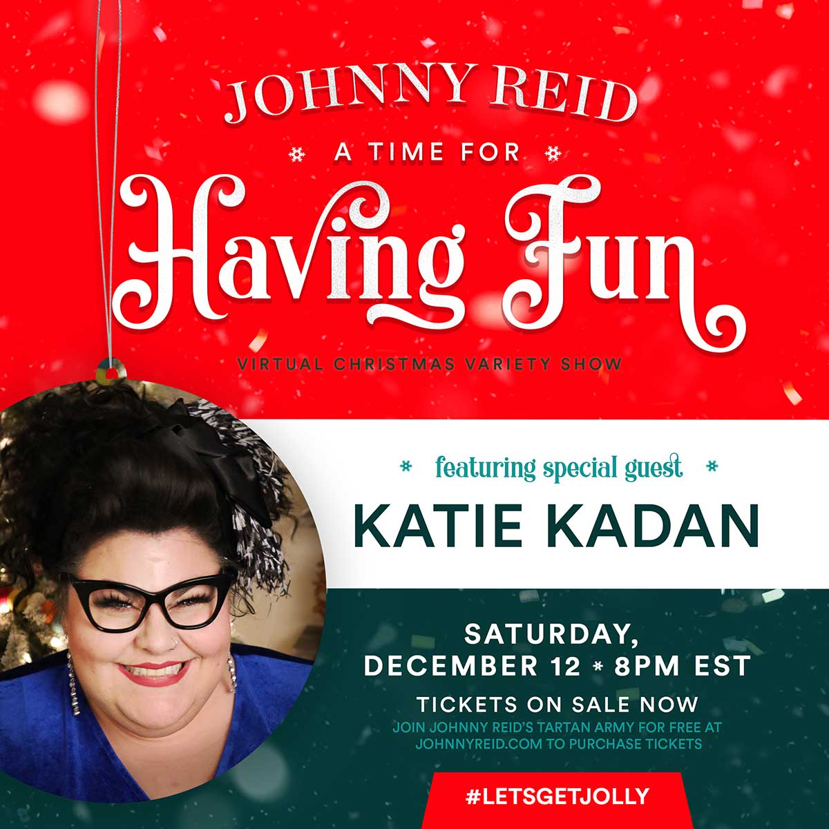 NBC The Voice Finalist Katie Kadan Announced as Special Guest on A Time For Having Fun Virtual Christmas Variety Show