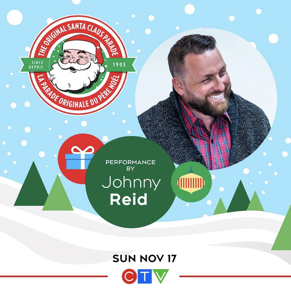 Attend Johnnys Live Santa Claus Parade Performance in Toronto