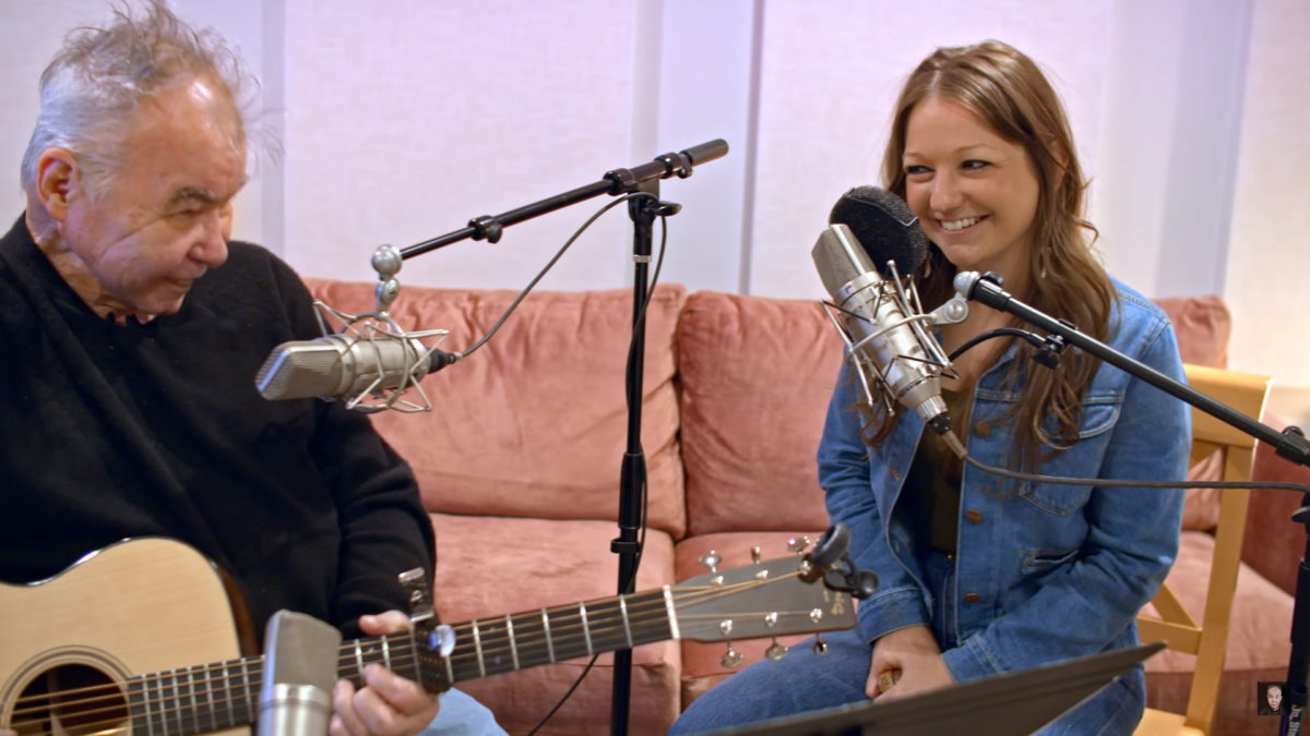 Watch John Prine and Kelsey Waldon Duet on 'Paradise'
