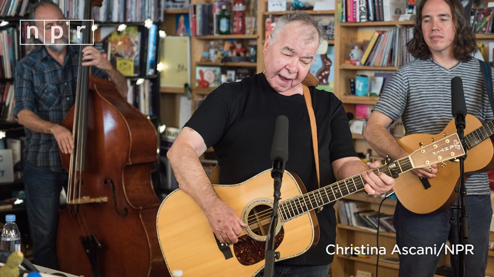 John Visits NPR's Tiny Desk Series