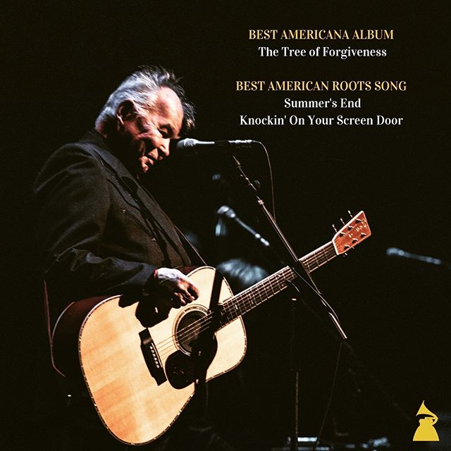John Prine's The Tree of Forgiveness Grammy Nominations!