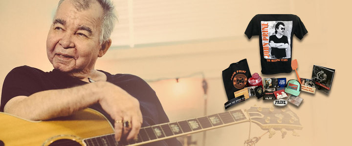 Win A Personalized Autograph Package of John Prine Goodies!
