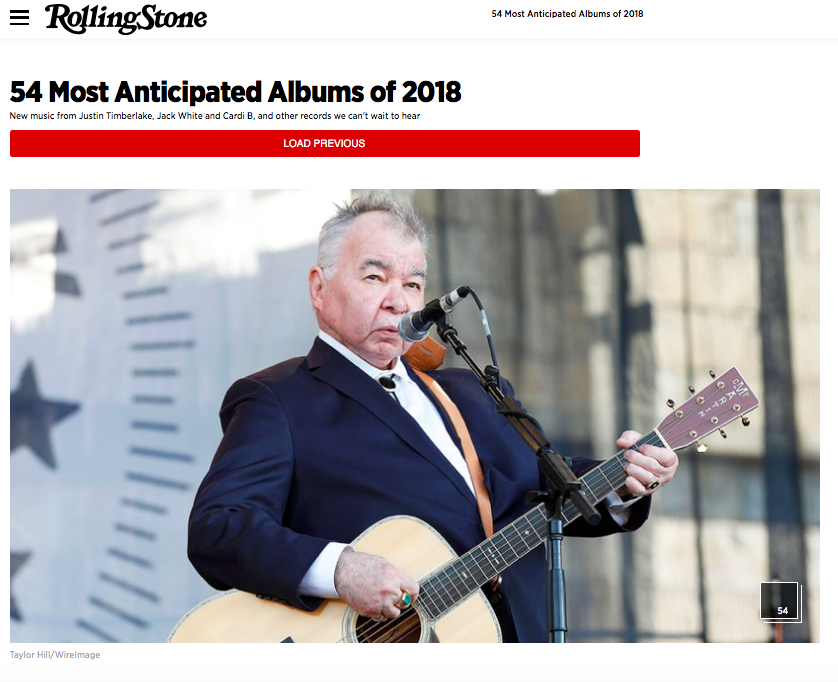 Rolling Stone's 54 Most Anticipated Albums in 2018