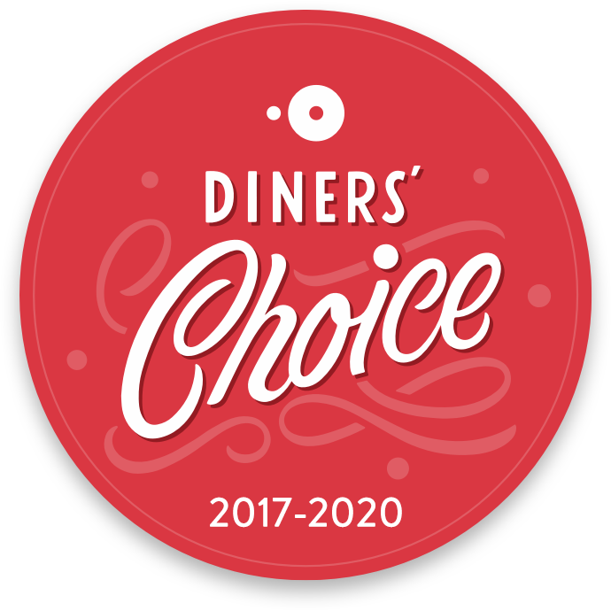 Winner Open Table Diner's Choice