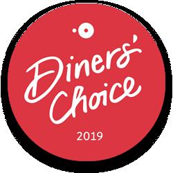 Winner Open Table Diner's Choice 2019