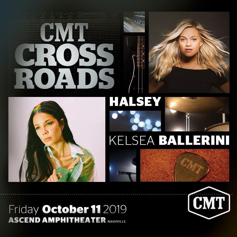 """CMT CROSSROADS"""" HALSEY AND KELSEA BALLERINI"""