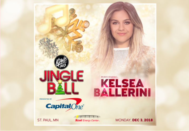 Performing This Feeling at KDWBs Jingle Ball!