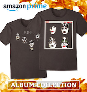 KISS Amazon Album Collection