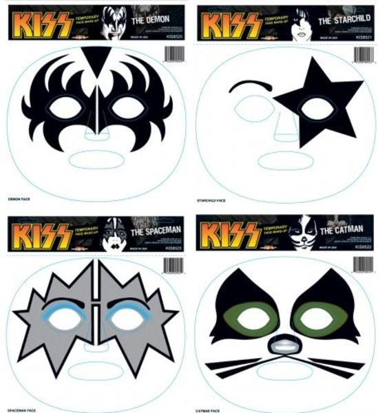 Kiss And Make Up: Kiss Makeup Stencils