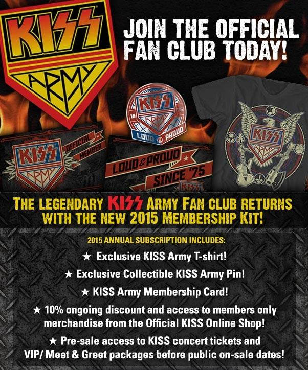 kiss vip meet and greet package