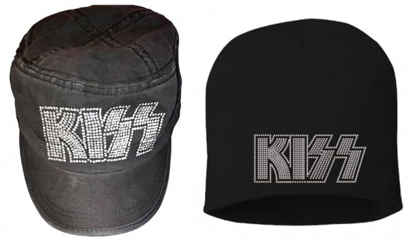 32a3763a KISS WOMEN'S MILITARY-STYLE CAP & KISS BLING BEANIE AVAILABLE ONLINE NOW