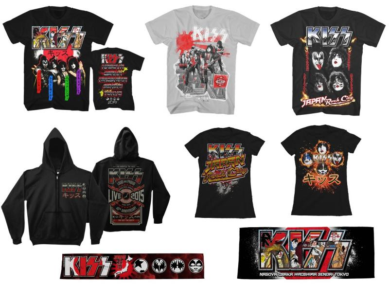 b6050cfca KISS 2015 Japanese Tour Merchandise now in stock!