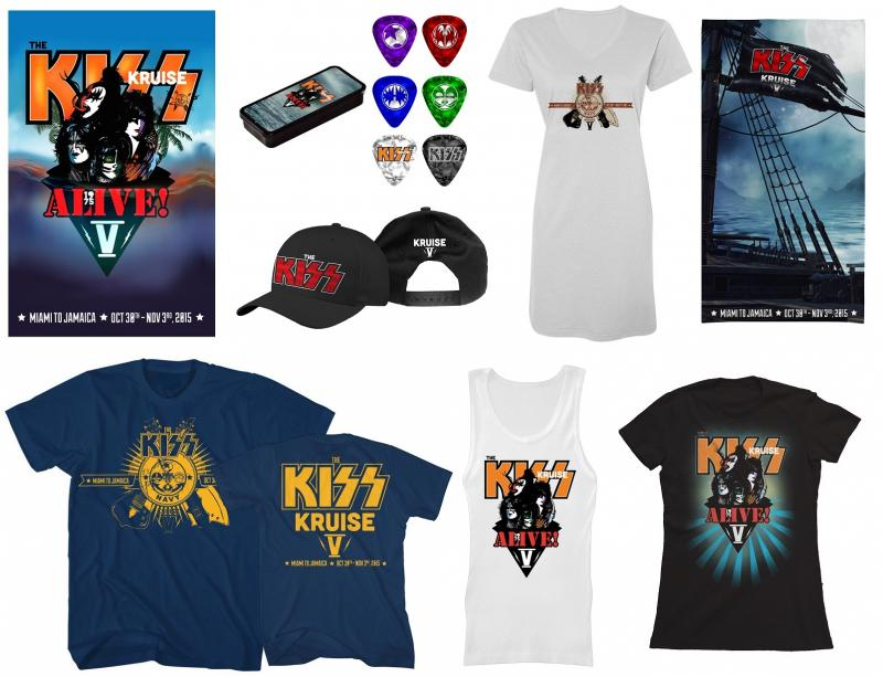 KISS KRUISE  V Kruisemerch2