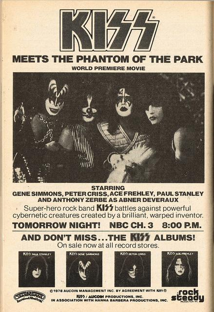 kiss meets the phantom of the park online Hey guys - so i looking for the american cut of kiss meets the phantom of the park and the name cheesy flicks came up while the movie ran headlong.