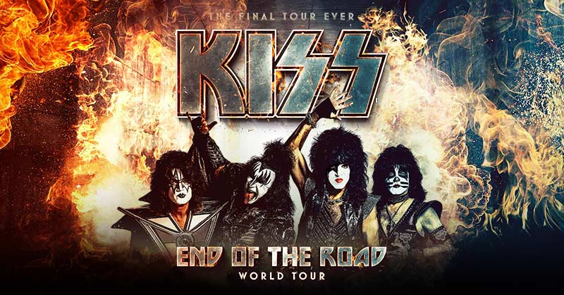 KISS Online :: The Final Tour Ever - Kiss End Of The Road World Tour