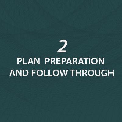 Plan Preparation and Follow Through
