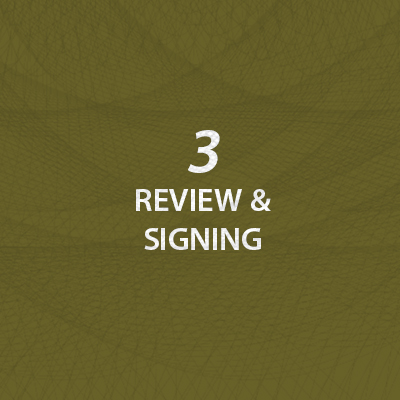 Review & Signing