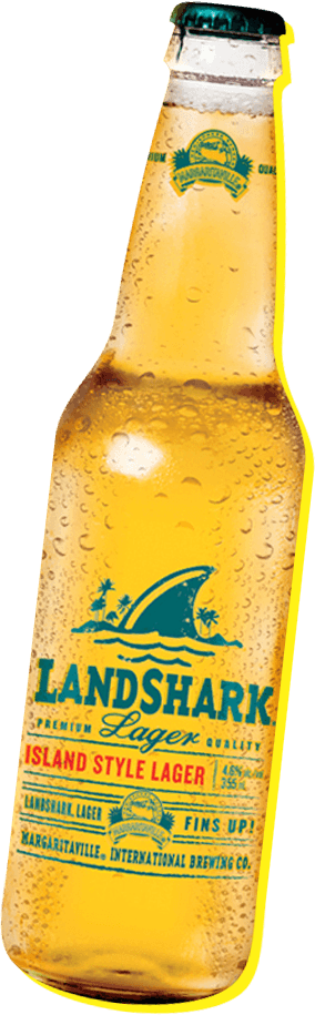 Landshark Lager bottle