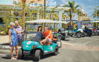 Daytona Beach Golf Cart