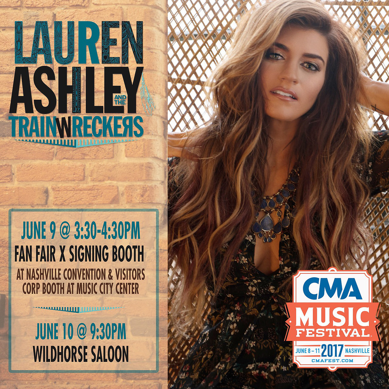 Lauren Ashley And The Trainwreckers Gear Up For Exciting CMA Fest