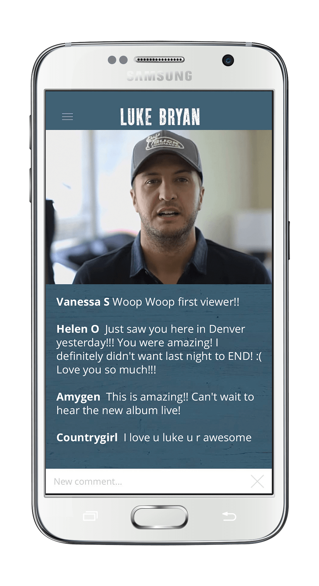 Official luke bryan app luke bryan awesome features kristyandbryce Image collections