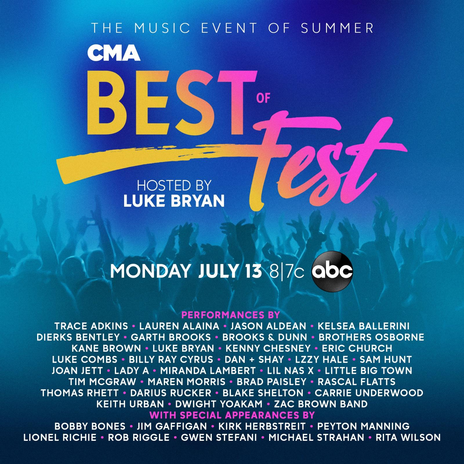 Luke Bryan to Host
