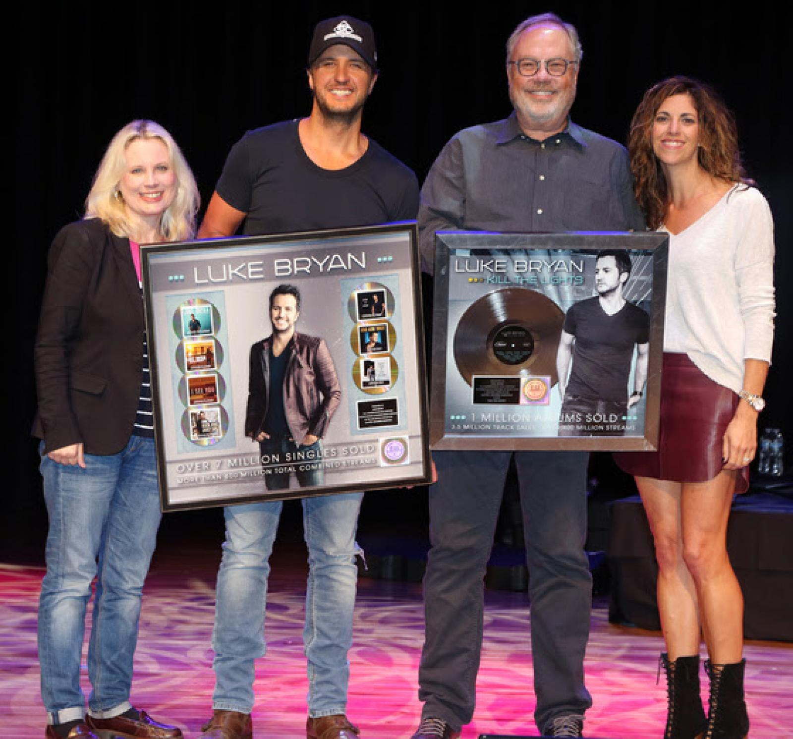 Luke Bryan Celebrates Seven Consecutive #1 Singles Which Have Sold Over 7 Million Tracks and Over 600 Million Total Combined S