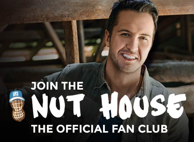 Nut house official fan club luke bryan m4hsunfo