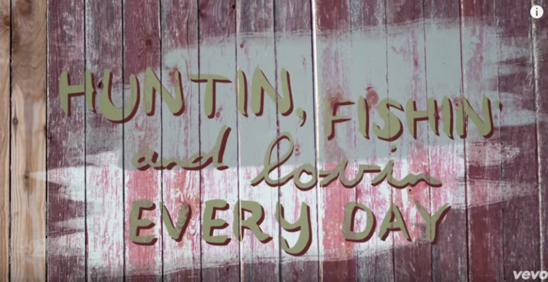 Videos luke bryan for Hunting fishing loving everyday lyrics