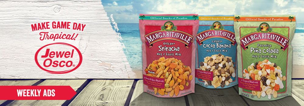 Margaritaville Foods at Jewel Osco