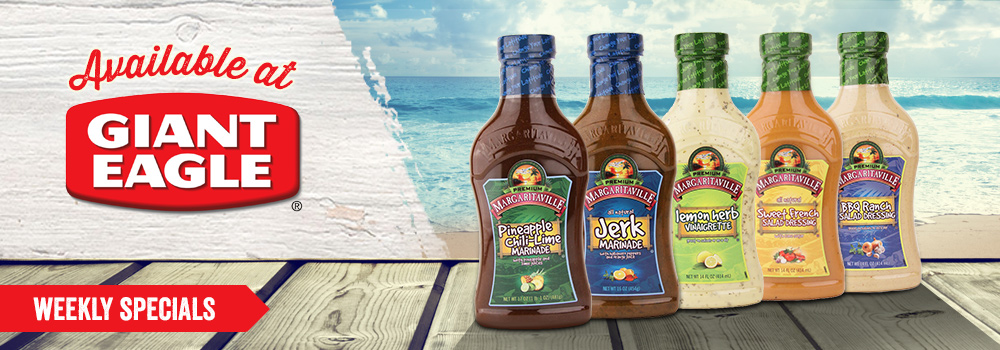 Margaritaville Foods available at Giant Eagle
