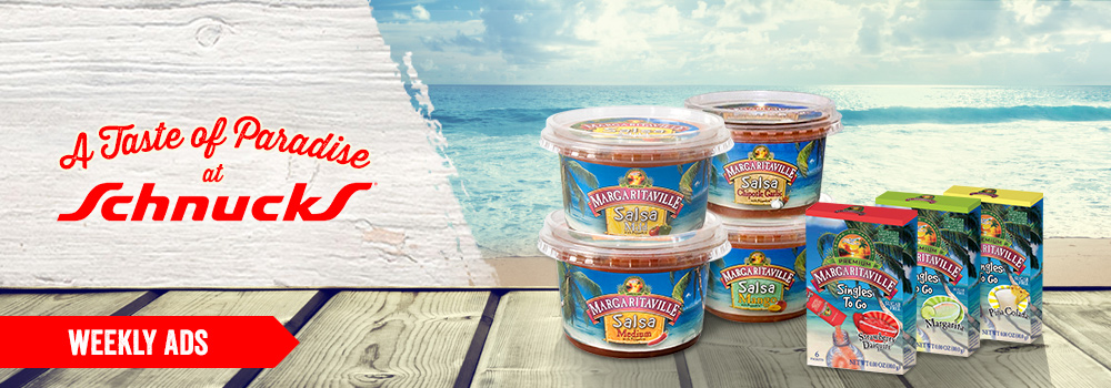 Margaritaville Foods available at Schnucks