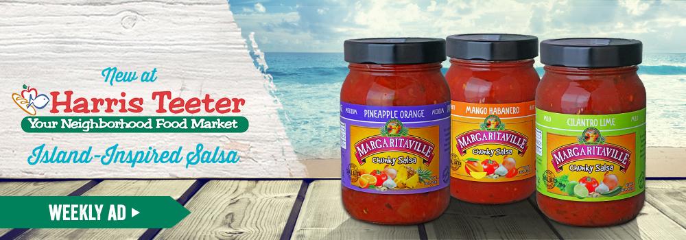 Margaritaville Foods available at Harris Teeter